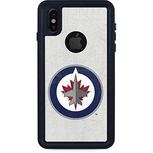 Winnipeg Jets iPhone X Case - Winnipeg Jets Distressed | NHL X Skinit Waterproof - Winnipeg Store Iphone