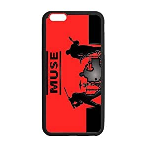 Fashion Muse Rock Band Protective Hard Coated Case Cover for iPhone 6 Plus 5.5 inch