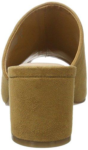 Aldo Alaska, Zapatos de Punta Descubierta para Mujer Marrón (Light Brown 27)