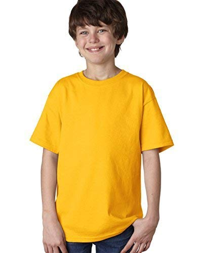 Fruit Of The Loom Lofteez Hd Youth Tee (Gold) (S) (Lofteez T-shirt Youth)