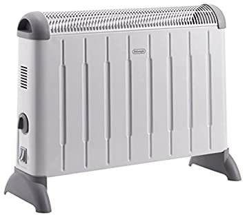 DeLonghi HCM 2030, 230 V, 2000 W, 542 x 175 x 400 mm, Gris, Blanco, Power - Radiador: Amazon.es: Hogar