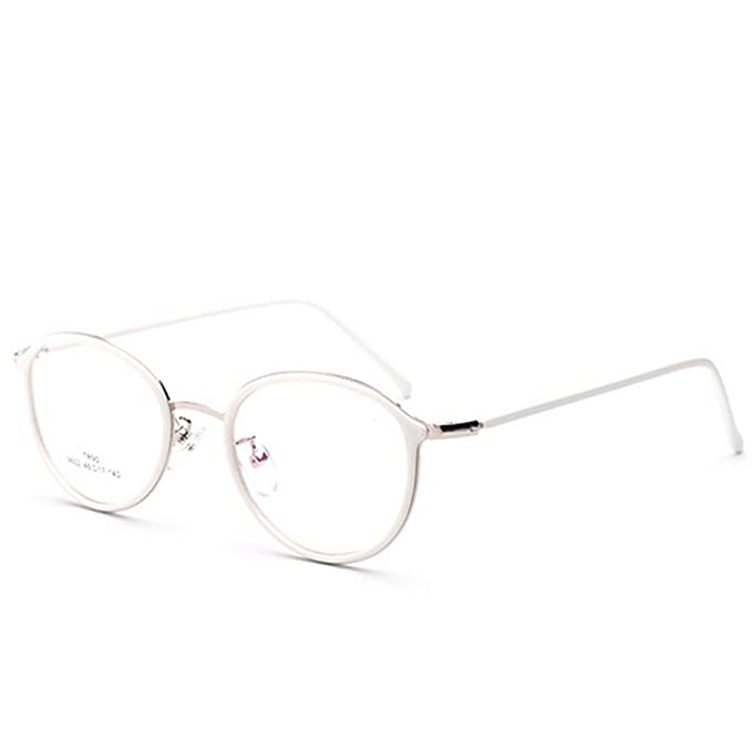 Amazon.com: D.King Womens Vintage Oversized Metal Frame Clean lens ...