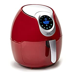 Amazon.com: Power Air Fryer XL (5.3 QT Deluxe, Red
