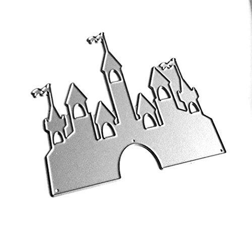 LNGRY New Flower Heart Romantic 3D Metal Cutting Dies Stencils DIY Scrapbooking Album Paper Card Craft (G)