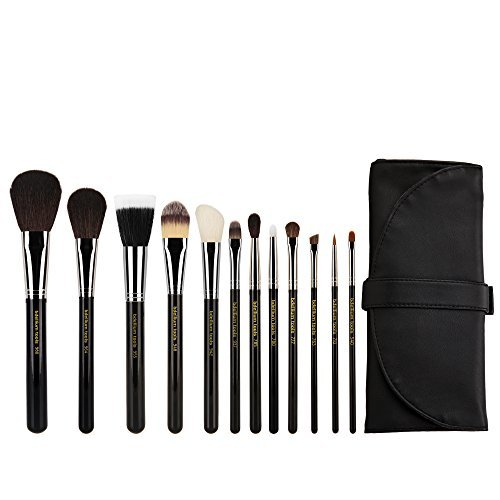 Bdellium Tools Professional Antibacterial Makeup Maestro Series Complete 12pc. Brush Set with Roll-up Pouch by Bdellium Tools