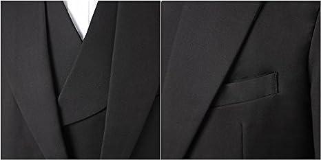 YSMO Herren Slim fit 3 St/ück Frack One Button Suit Jacke /& Weste /& Hose Prom Hochzeit Blazer