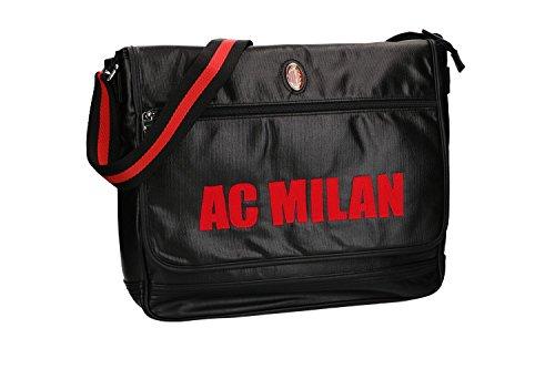 messenger con hombre bandolera solapa VF447 negro Bolsa AC Maletín Milan 0RwZqX0