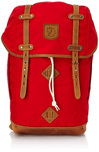 Fjallraven Rucksack No.21 Daypack, Red, Large