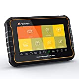 """FOXWELL GT60 Plus Android Tablet Bi-Directional Diagnostic Scanner 7"""" Touchscreen All System Scanning with Most Service Functions ABS Bleeding/SAS/BRT/TPS/TPMS/Oil Reset/EPB/DPF/CVT/Odometer"""