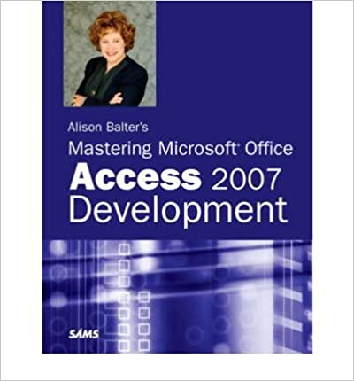 ({ALISON BALTER'S MASTERING MICROSOFT OFFICE ACCESS 2007 DEVELOPMENT}) [{ By (author) Alison Balter }] on [May, 2007]