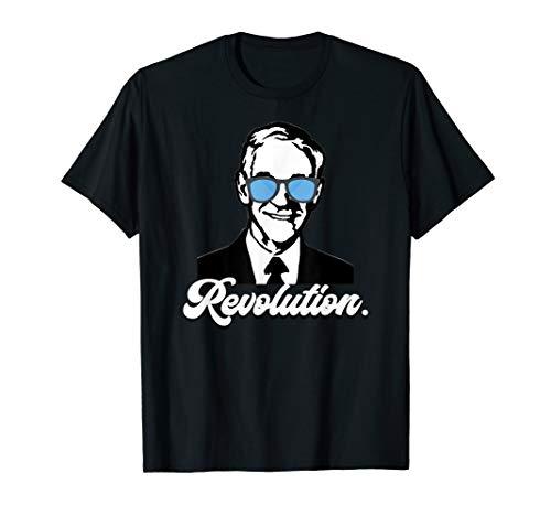 (Revolution Ron Paul Libertarian Freedom Liberty Voluntaryism T-Shirt)