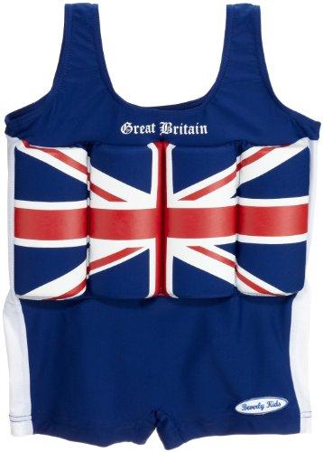 Gran Con Nuoto Bambini Bretagna Galleggianti Blu Costume bianco Beverly Bojen Kids Da wXUqgvSv