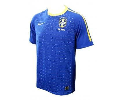 07e11884f Amazon.com   NIKE Men s Brasil Away Jersey 10 11   Sports   Outdoors