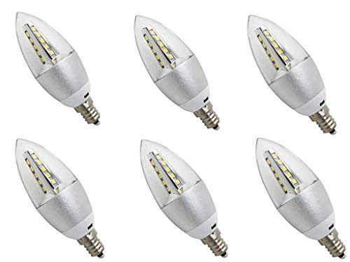 led candelabra bulb cool white - 8