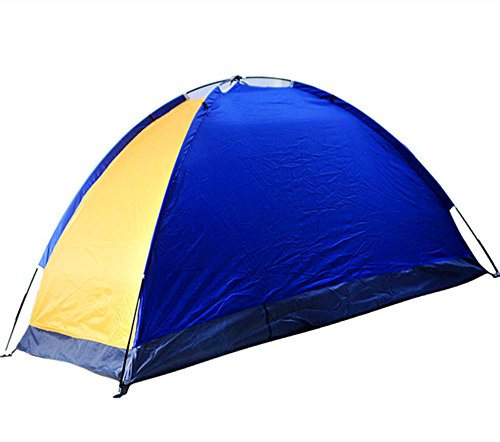 Kids Play Tunnels Mountaineering Tent Single Silver Plastic Tent Windproof Sunscreen Waterproof Tent Suitable for Outdoor Sportsmen Pop Up Tunnel Gift Toy by Sviper (Image #2)