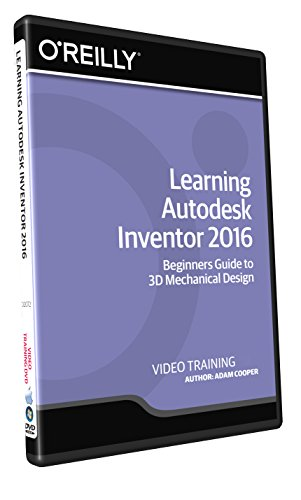 Learning Autodesk Inventor 2016 - Training DVD by Infiniteskills