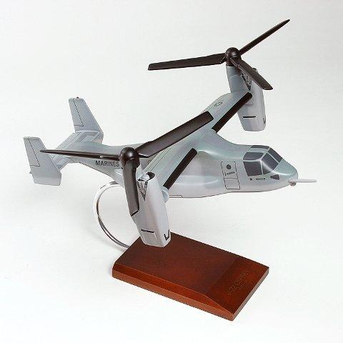 V22 Osprey Model (Mastercraft Collection MCV22AMCW V-22 Osprey - Usmc 1 Isto 48 Desktop Wood)