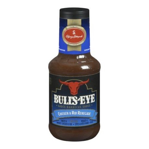 - BULL'S-EYE Chicken & Rib Renegade BBQ Sauce, 425ml/14oz. {Imported from Canada}