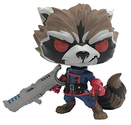 Funko Pop! Marvel: Guardians of The Galaxy: Rocket Raccoon Classic Vinyl Figure (Rocket Raccoon Figure)