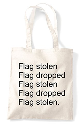 Stolen Tote Bag Multiplayer Repeat Online Pvp Statement Capture The Shopper Gaming Mode Dropped Natural Flag Agq7dxnPBA