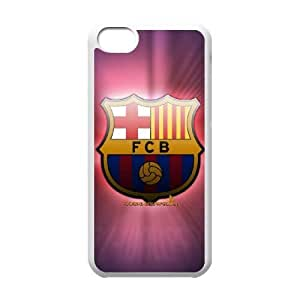 iPhone 5c Cell Phone Case White Barcelona Football cleh