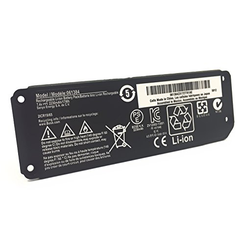 063404 063287 Battery 061385 061384 061386 Compatible with Bose Soundlink Mini I one/Bose SoundLink Mini Bluetooth Speaker one/Bose SoundLink Mini Bluetooth Speaker I/Bose Mini I - 7.4V 17Wh EMAKS