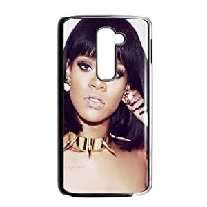 LG G2 Cell Phone Case Black hd91 rihanna pop music sexy celebrity LV7913505