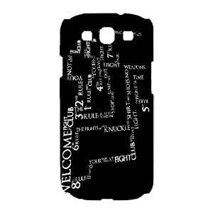 Fight Club For Samsung Galaxy S3 I9300 Case Cell phone Case Ltzk Plastic Durable Cover
