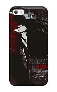 Unique Design Iphone 5/5s Durable Tpu Case Cover Bleach