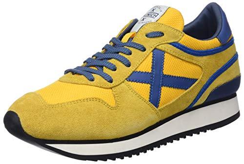 NOU azul 55 Trainers Adults' Yellow Unisex Munich Amarillo 8qPEW