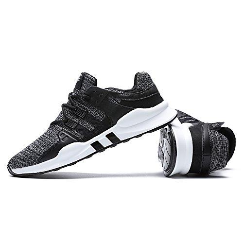 Black Male Gray Classic Footwear Men Leather Comfortable Unisex Fashion Sports Shoes Jacky's wz6vqT
