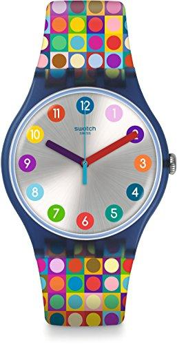 Swatch Originals SUON122 Multicolor Rubber Analog Quartz Fashion Watch