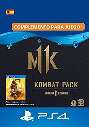 Mortal Kombat 11 Kombat-Pack - PS4 Download Code - ES ...