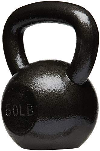 AmazonBasics Cast Iron Kettlebell, 50 lb by AmazonBasics (Image #1)
