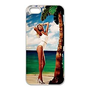 HQYDIY Custom Kate Upton Plastic Case, DIY Kate Upton Hard Cell Phone Case for Iphone 5,5s