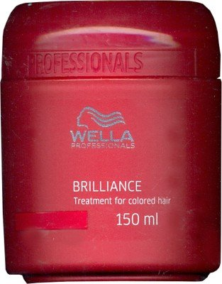 Wella Brilliance Treatment Mask for Colored Hair(150 (Brilliance Treatment Mask)