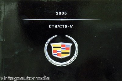 amazon com 2005 cadillac cts cts v owner s manual everything else rh amazon com 2005 cadillac cts service manual 2005 cadillac cts repair manual pdf