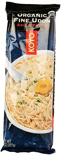 Koyo Organic Fine Udon Pasta, 8 oz (Udon Noodle)