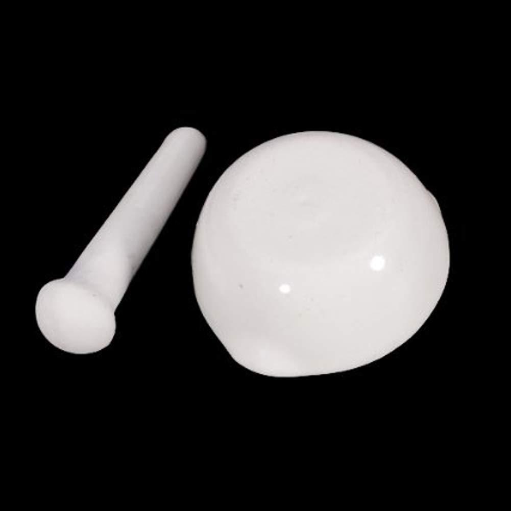 Vektenxi P/ädagogisches Porzellan M/örser und Pistill Mischen Mahlbecher Set f/ür Laborbedarf 60mm Durchmesser Kreativ und n/ützlich