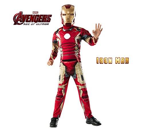 - Rubies Iron Man Muscle Chest Child Halloween Costume, Size Large 12-1