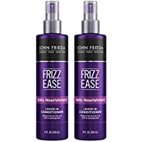 2-Pack John Frieda Frizz Ease Daily Nourishment Conditioner 8 Ounce