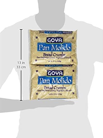 Goya Bread Crumbs, 15 Ounce (Pack of 12): Amazon.com ...