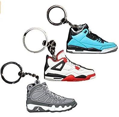 Air Jordan Michael Jordan Shoe Game Basketball Jumpman Key Chain Keychains CPS AJ Pack_1