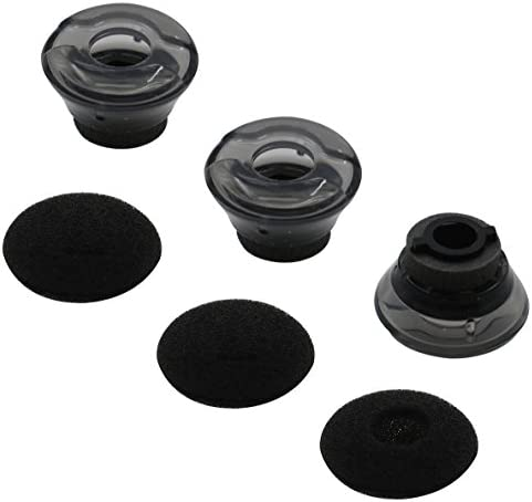 Replacement Silicone Earbud Gel Tips S//M//L Size Fit for Plantronics M165 Marque2 ALXCD Ear Gel for Plantronics M165 Marque 2 Headset