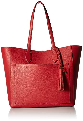 Cole Haan Piper Leather Tote, barbados cherry