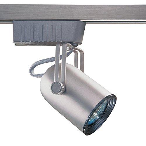 UPC 665807009535, Kendal Lighting TL101-BST Designers Choice Cylinder 1-Light 12-volt Adjustable Track Head, Brushed Steel Finish