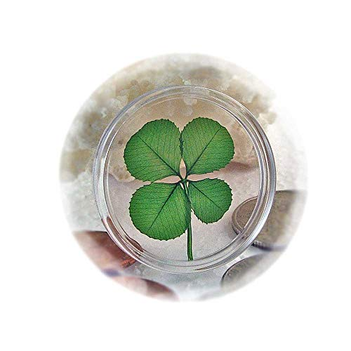 - Clovers Online Genuine Four Leaf Clover Good Luck Pocket Token Coin