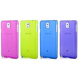 HP DFUltra-Thin Case 0.3mm for Samsung Galaxy Note3 N9000 (Assorted Color) , White