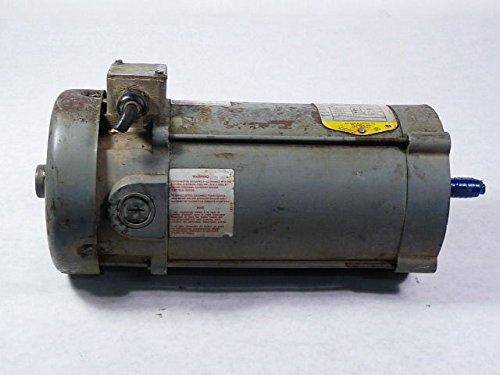 - BALDOR CDP3445 56C Frame TEFC DC Motor, 1 hp, 1750 RPM, 3435P, F1, 90V Armature Voltage