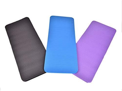 GUOJIAYI 1 Piece of Gym Soft Pilates Mat Non-Slip Yoga Knee Pad Sports Mat Foldable Mat Indoor Fitness 60x25x1.5cm